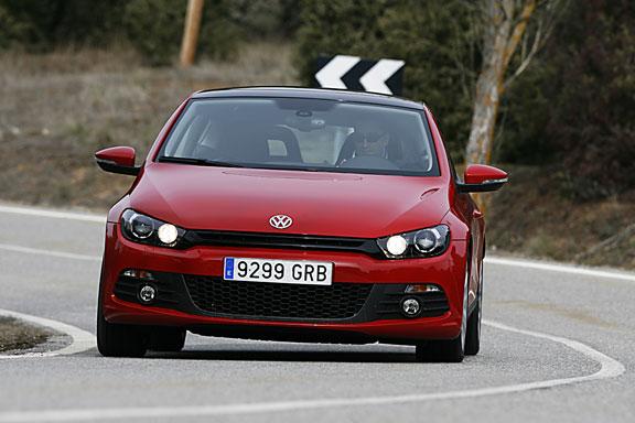 Volkswagen Scirocco, la prueba