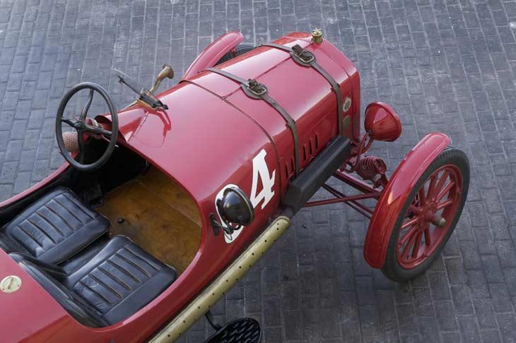 Ford T Racer de 1917: detalles