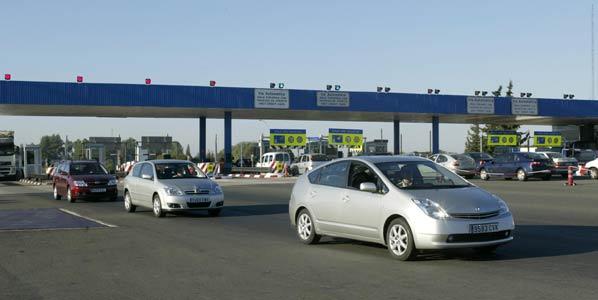 Cae el tráfico de las autopistas de peaje