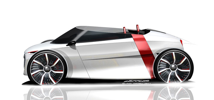 Audi Urban Concept Spyder.