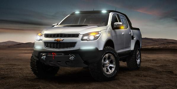 Chevrolet Colorado Rally Concept y Chevrolet Miray Concept