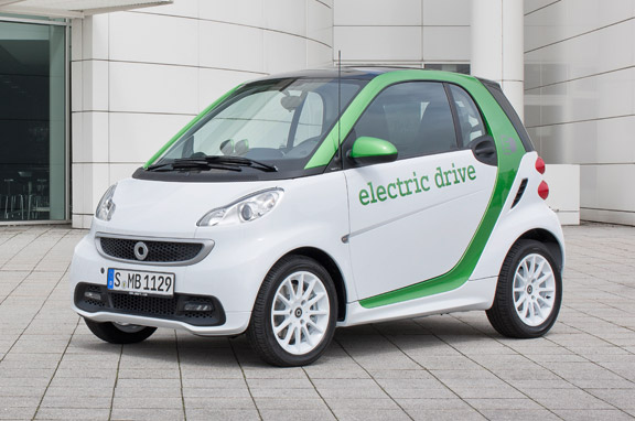 Smart ForTwo Electric Drive eléctrico
