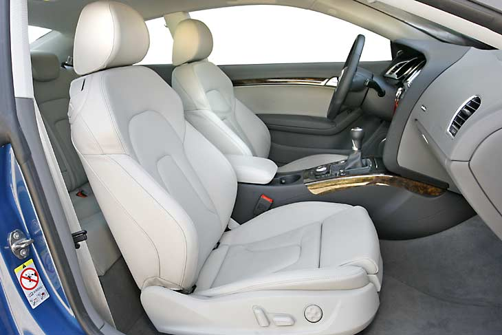 Audi A5 y BMW 330 xd: detalles