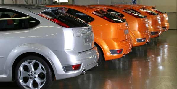 Ford reducirá su producción hasta 2013