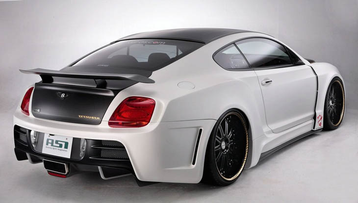 Bentley Continental GT por ASI