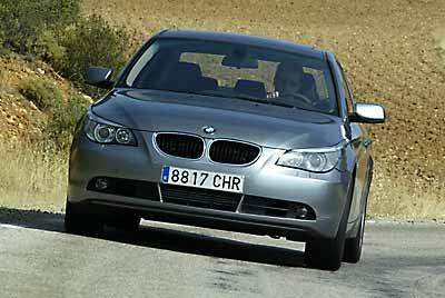 El exclusivo BMW Serie 5 en sexta posición (144 p)