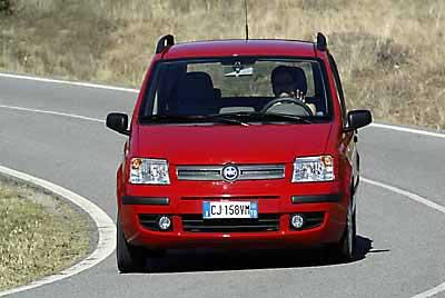 El Fiat Panda es el COTY 2004