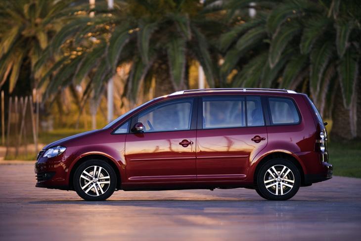 Volkswagen Touran: retoques estéticos en el exterior.