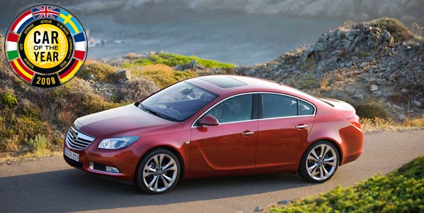 Opel Insignia, Coche del Año 2009