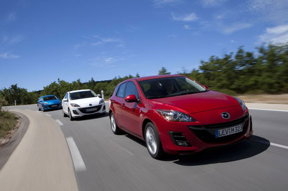 Mazda3 Diesel más eficiente