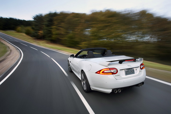Jaguar XKR-S Convertible.