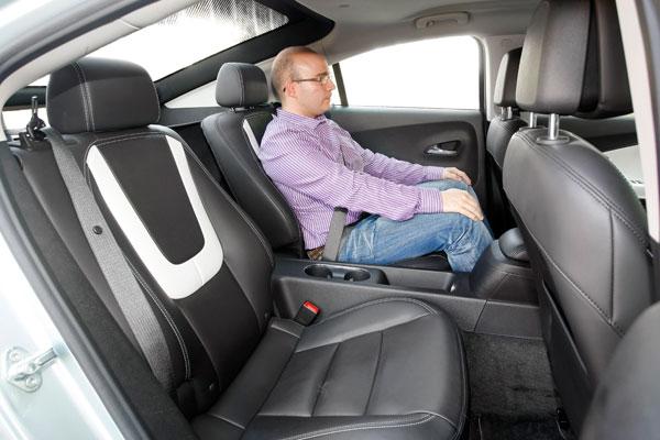 Chevrolet Volt, el contacto