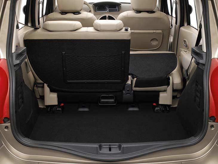 Renault Grand Modus: interior modulable