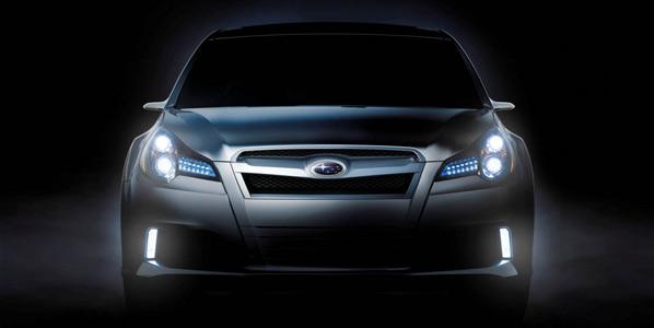 Subaru presenta el Legacy Concept
