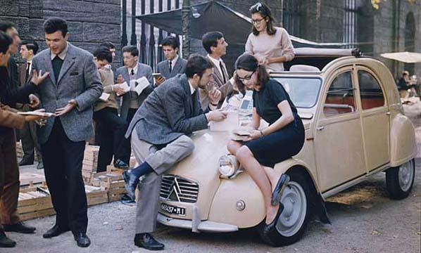 60 Aniversario del Citroën 2 CV