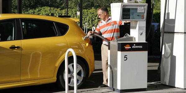 Nuevo récord del precio de la gasolina