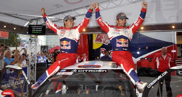 Rally de Finlandia: victoria de Loeb