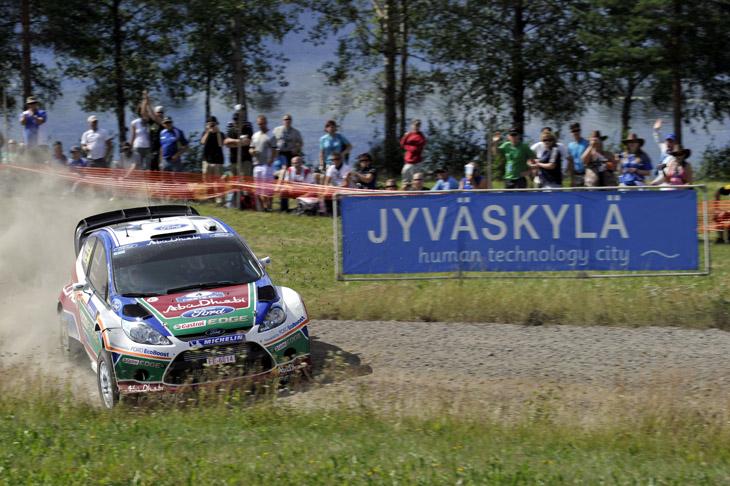 Rally de Finlandia 2011.