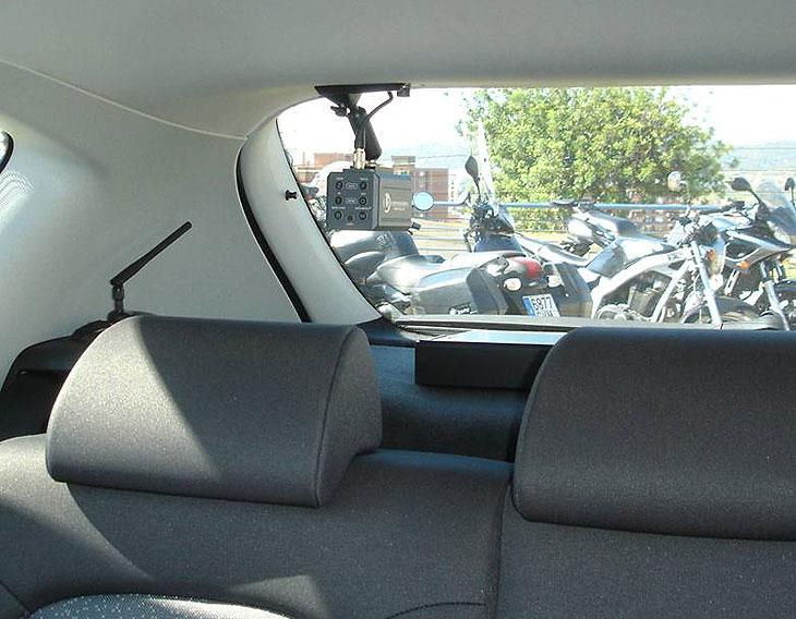 Los coches con videocámaras