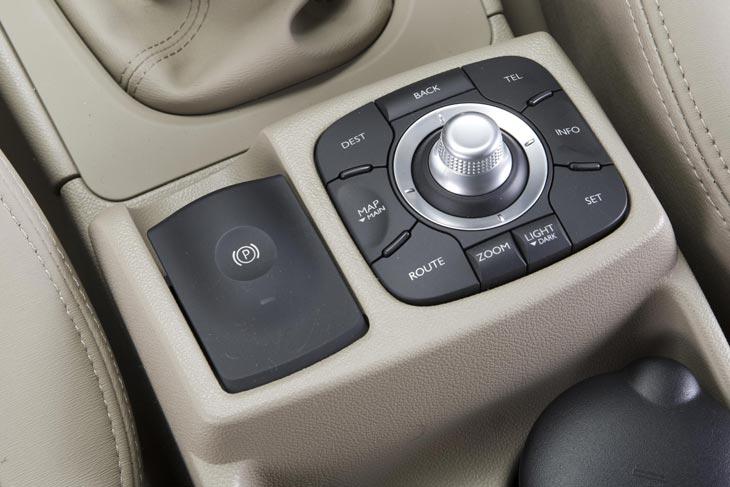 Renault Koleos 2.0 dCi detalles interior