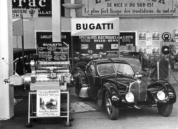 Centenario de Bugatti.