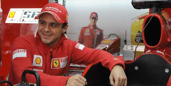 Massa no correrá hasta 2010