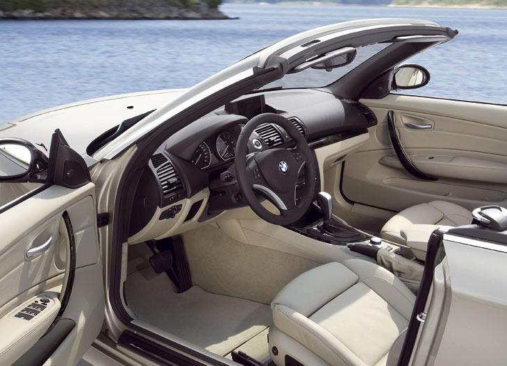El interior puede equipar el sistema iDrive.