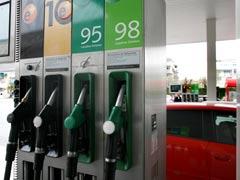 Gasóleo: baja menos que en la UE
