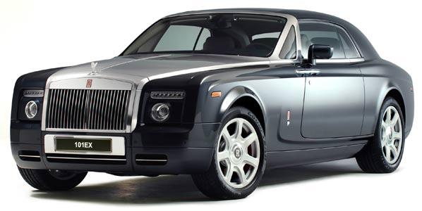 Rolls-Royce fabricará el 101EX