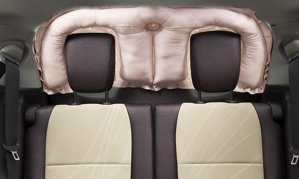Toyota crea el airbag trasero