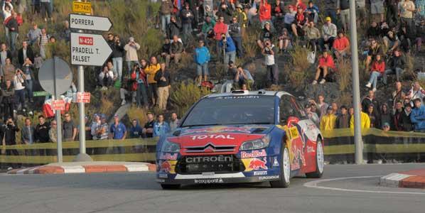 Loeb y los Citroën ponen el listón