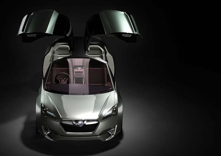 Subary Hybrid Tourer Concept