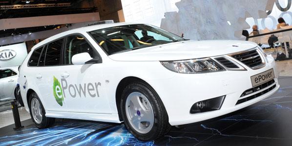 Llega el Saab 9-3 ePower