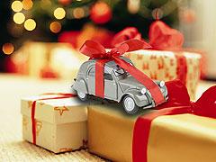 Navidad sobre ruedas