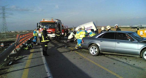 Mueren nueve personas en las carreteras