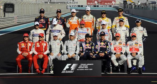 F1: La FIA publica la lista de inscritos de 2010