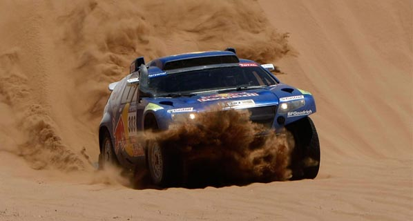 Sainz gana el Dakar