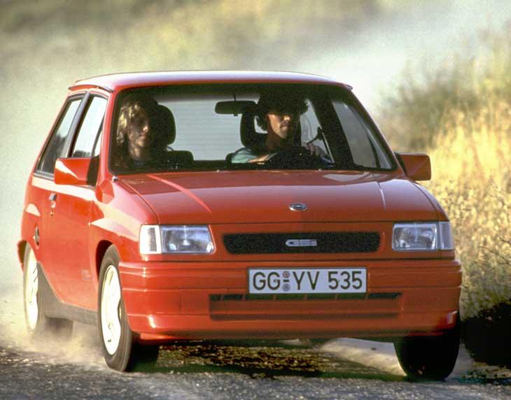 Opel Corsa A GSi.