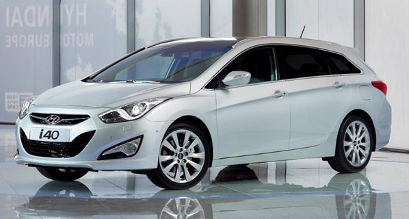 Primeras imágenes del Hyundai i40