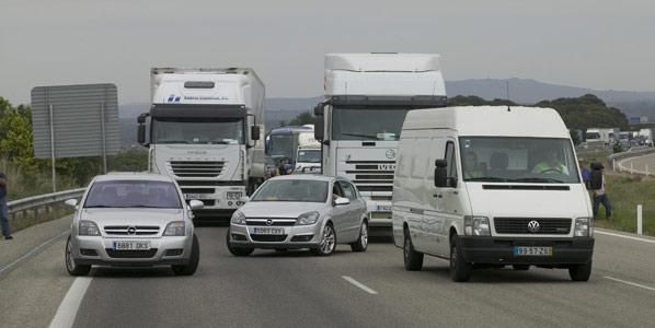 Los conductores suspenden a la Administración