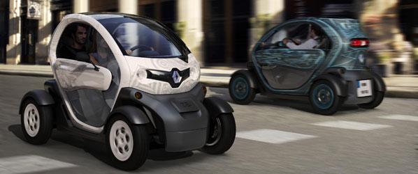 El Renault Twizy, destacado como vehículo urbano innovador