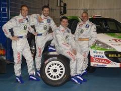 Peugeot España presentó su equipo del IRC