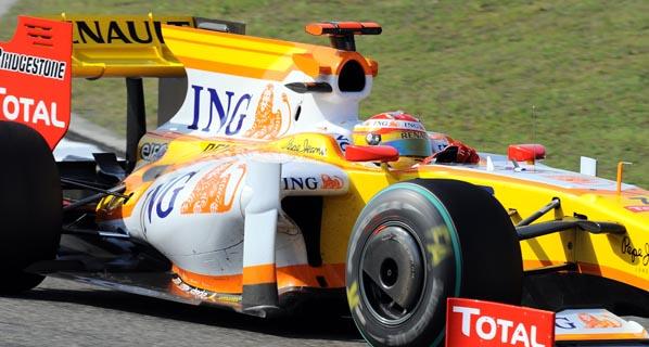 F1: Calificación del GP de China