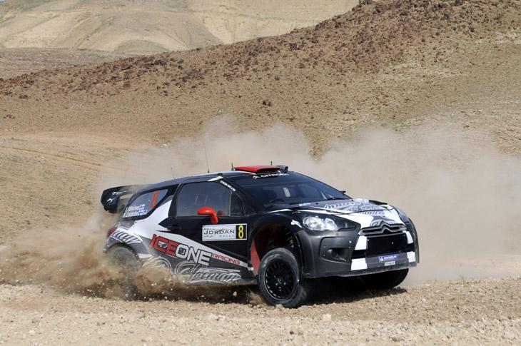 Rally de Jordania 2011.