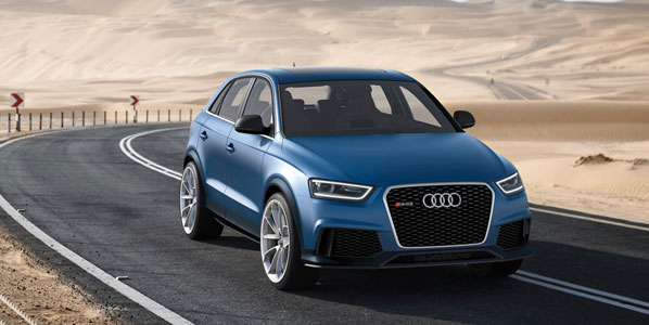 Audi RS Q3 Concept, alto rendimiento con 360 CV