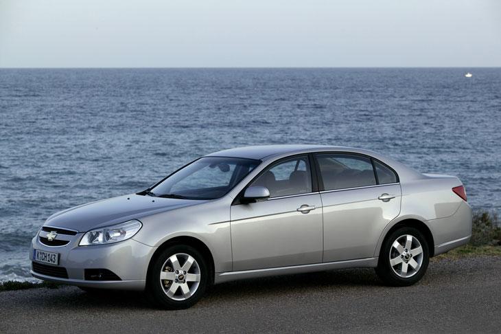 Chevrolet: Captiva y Epica