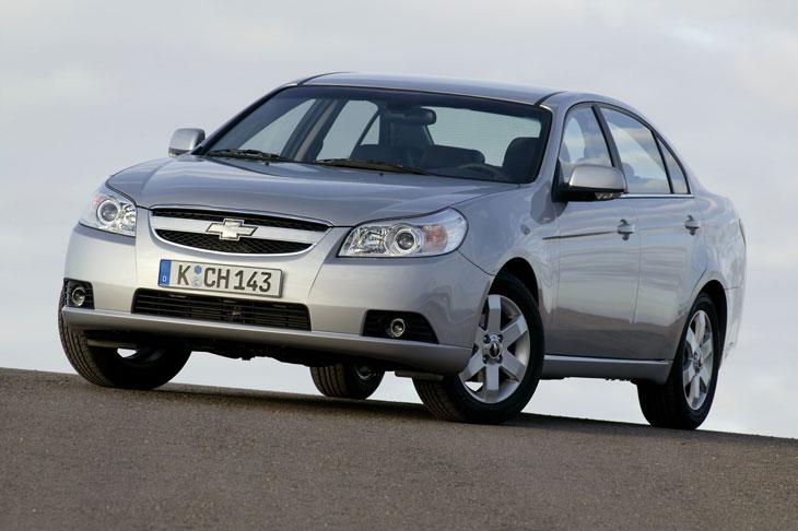 Diseño elegante para un Epica en el que se aprecian la nueva estética de Chevrolet.