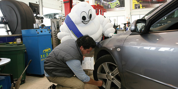 Michelin revisa gratis tus neumáticos