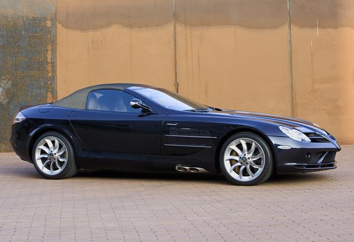 Mercedes SLR: nuevas fotos