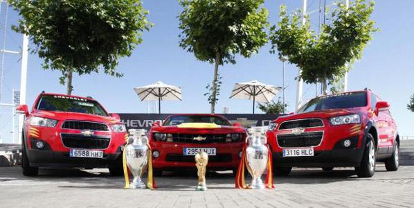 Chevrolet deja de patrocinar a 'La Roja'